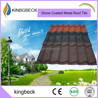 high quality colorful steel roof tile manufacturer roofing sheet stone tiles metal roof