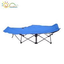 600D fabric portable folding bed/camping bed/outdoor beach bed