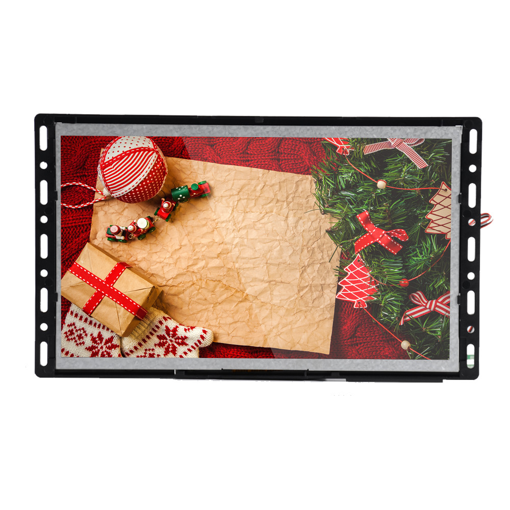 Video shelf display motion activated 10 inch in store video advertising