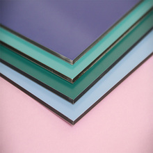 TUV certificate b1 fire rated acp/acm /wall cladding pe pvdf aluminum composite panel