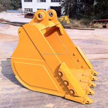 China excavator drilling bucket with tooth for construction use