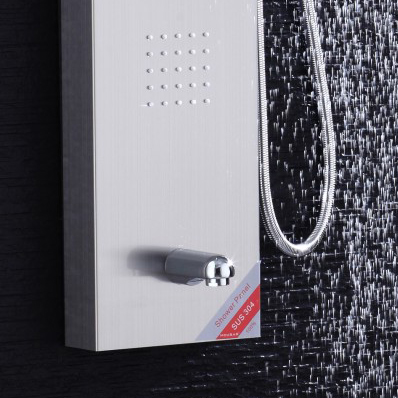 cheap price good quality bathroom wall mounted shower sets shower panels