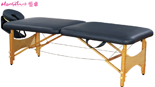 Light and carry portable wooden massage bed folding /massage facial bed
