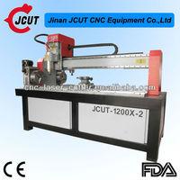 China JCUT woodworking machinery furniture making tools 4 axis cnc wood cutting engraving machine
