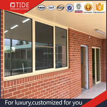 Australian Standard Customized aluminum Fixed Windows/Large size fixed windows