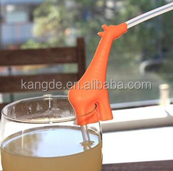 Silicone Drinking Straw Holder/Drink Markers for Cups/Drink Markers for Parties Fits Most Cups Glasses Mugs