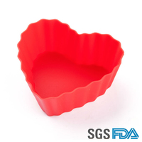 baking supplies,mini cupcake cups,silicone cake mould cookie cup