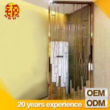 stainless steel laser cutting decoration home interior decorative dividers partition