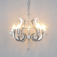 Pendant-Light-MG-1653 Modern Industrial crystal Pendant Lamp Iron indoor Hanging Light