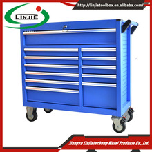 42'' wide thirteen aluminum drawers metal tool box for trucks