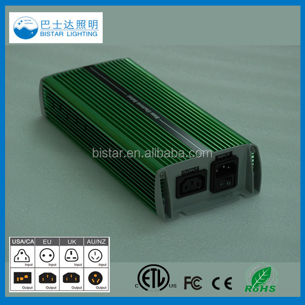 Lanxi Bistar lighting Hps/Mh Hid Electronic Ballast 400w 600w 1000w for Hydroponic Light