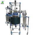 80l Single/double Deck Glass Chemical Reactors