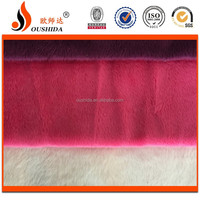 Professional China Hot Sale 100% Polyester super soft velboa fleece fabric