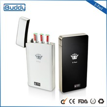 Best sales product stainless steel cigarette case PCC e cigarette E -pard electronic cigarette manufacture china