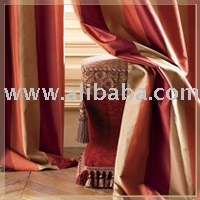 Opulent Silk Drapes Curtains
