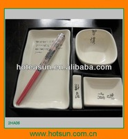 8pcs Japanese Ceramic Sushi Set 2HA06