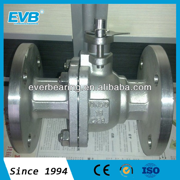SS304 Metal hard seal ball valve ,ball valve