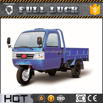 Adult Electric Cargo Tricycle With Cabin Cargo 250Cc