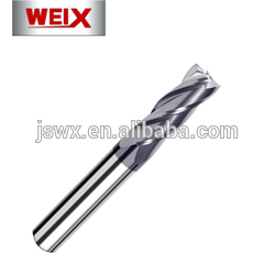 China Big Factory Good Price tungsten carbide end millr solide milling cutter solid mills for mold and steel gold supplier
