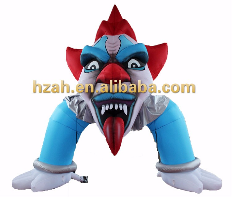 Halloween Horror Inflatable Demon Arch