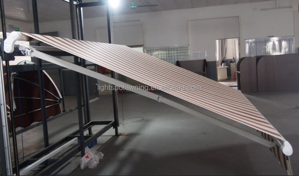folding arms awning roller awning hot sale used canopy awnings with motor