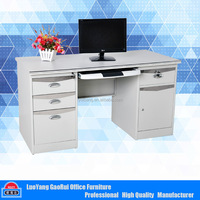 Hot sale Modern Office Furniture Cheap Steel Computer Desk Table