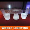 outdoor used color changing led high top bar tables