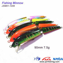 two section segmented body hard plastic new fishing lures for 2014