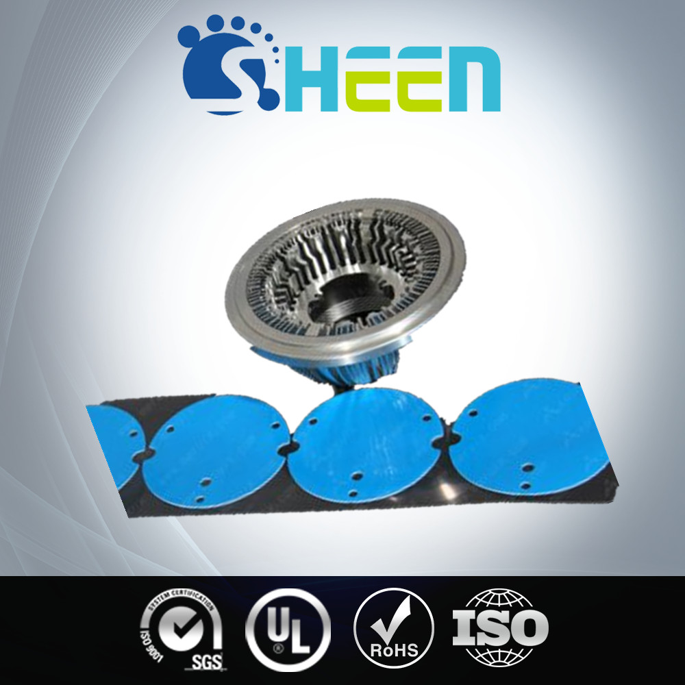 Customized Hardness And Thickness Thermal Gap Pads For Led Lights