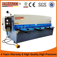 QC12Y-4*4000 sliding table saw guillotine cutting machine hydraulic cutting machine Metal Shearing Machine E210