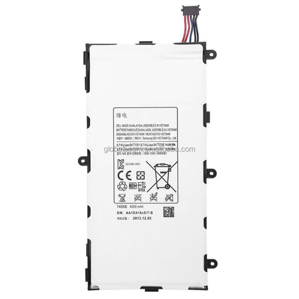 T4000E Battery For Samsung GALAXY Tab Tablet 3 7.0 T210 T211 T210R T217A SM-T210R Capacity 4000mAh + Tracking Code