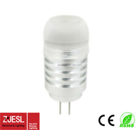1.5W 3000K warm white home decorative lights G4-3 1.5w led bulb 12V 64pcs Epistar G4 led lamp