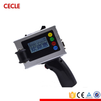 manual tube barcode serial number inkjet printer
