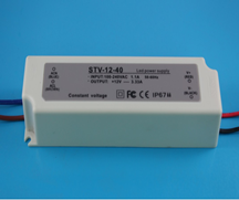 High quality CE EMC RoHS waterproof ip67 dc 12v 3a 36w 35w lamp led ic driver es class 2 power supply