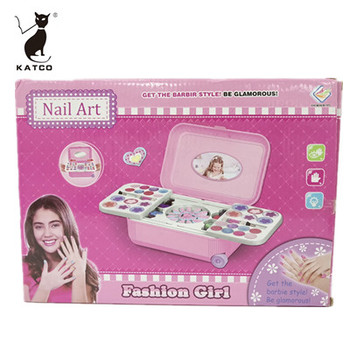 Little Girl Nail Beauty Makeup Set Children's Cosmetics Luggage Toys