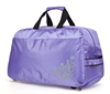 Foldable brand names trolley bag with two wheels-various color