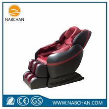 new products leather electric shiatsu kneading ball massage chair with CE