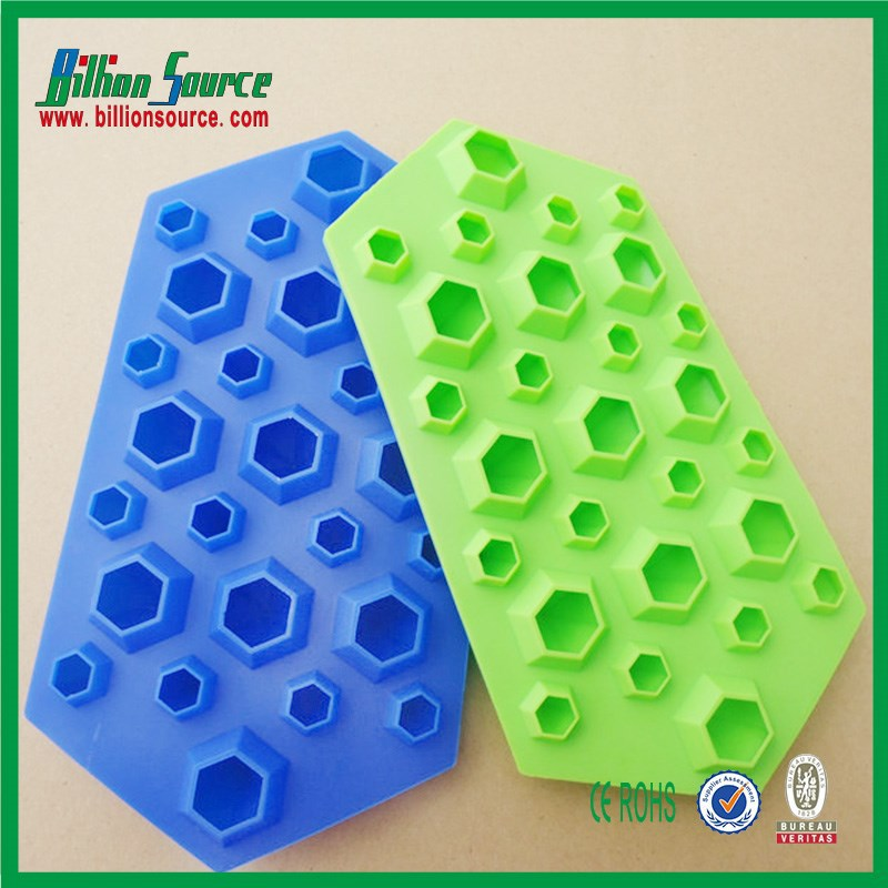 High quality Silicone Diamond Shape Ice Cube Tray,custom ice cube tray