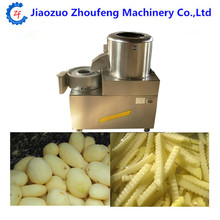 Potato washer peeler and electric french fries cutter