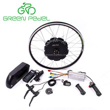Greenpedel preferred 48v 90v brushless electric car motor conversion kit