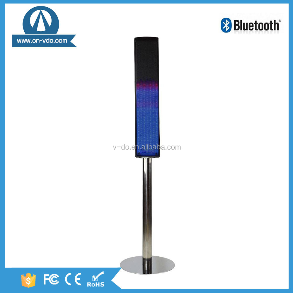 wireless bluetooth speaker with colorful led light home theater sound system