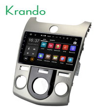 "Krando Android 6.0 9"" full touch screen car multimedia system for kia cerato Forte 2008-2012 car audio dvd 2G+16G KD-K022"
