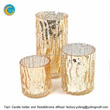 wholesale colorful mercury glass votives with mercury glass jars for c