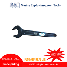 Non Sparking non magnetic cheap and high quality handle tools VaLve Spanner
