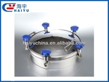 SS304 SS316 Sanitary stainless steel circular manhole cover