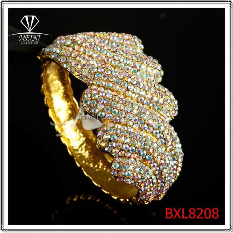 Wholesale colorful Enviromental fashion elastic Bangle