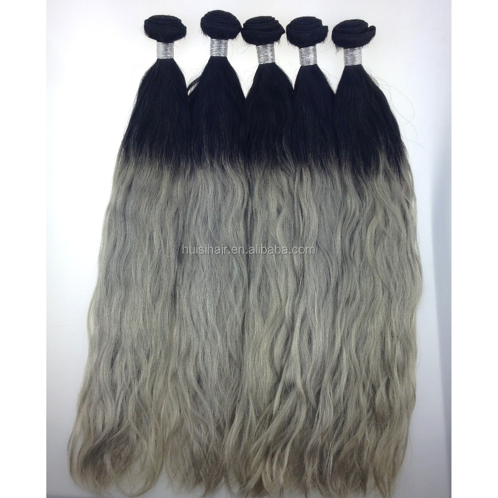 Beauty balayage hair weabe for wedding hair accessories long hair style natural wavy ombre color