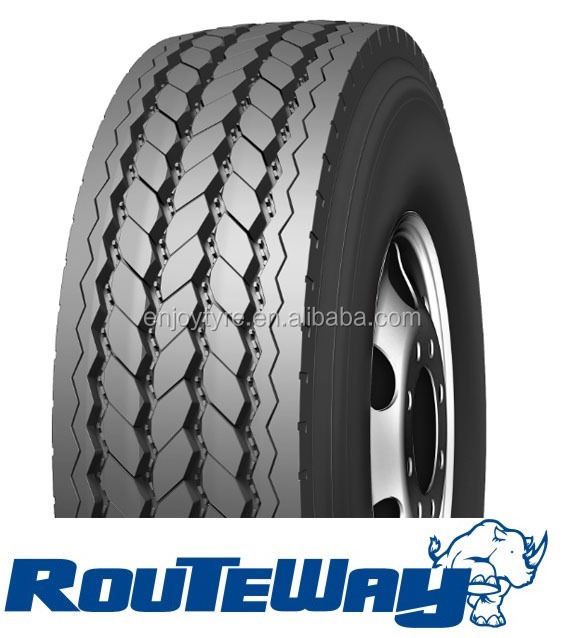 Routeway tires for trucks 385/65R22.5 tbr tyres with low price made in china