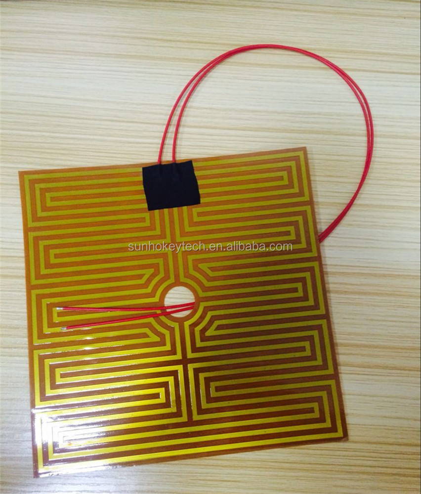 3D Printer Parts Prusa i4 3D Printer Heatbed/Heating Bed Heater Yellow Heater Plate Wholesale 24V 8A