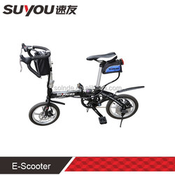wholesale Mini foldable electric bikes with aluminium alloy frame motor pocket bike for sale